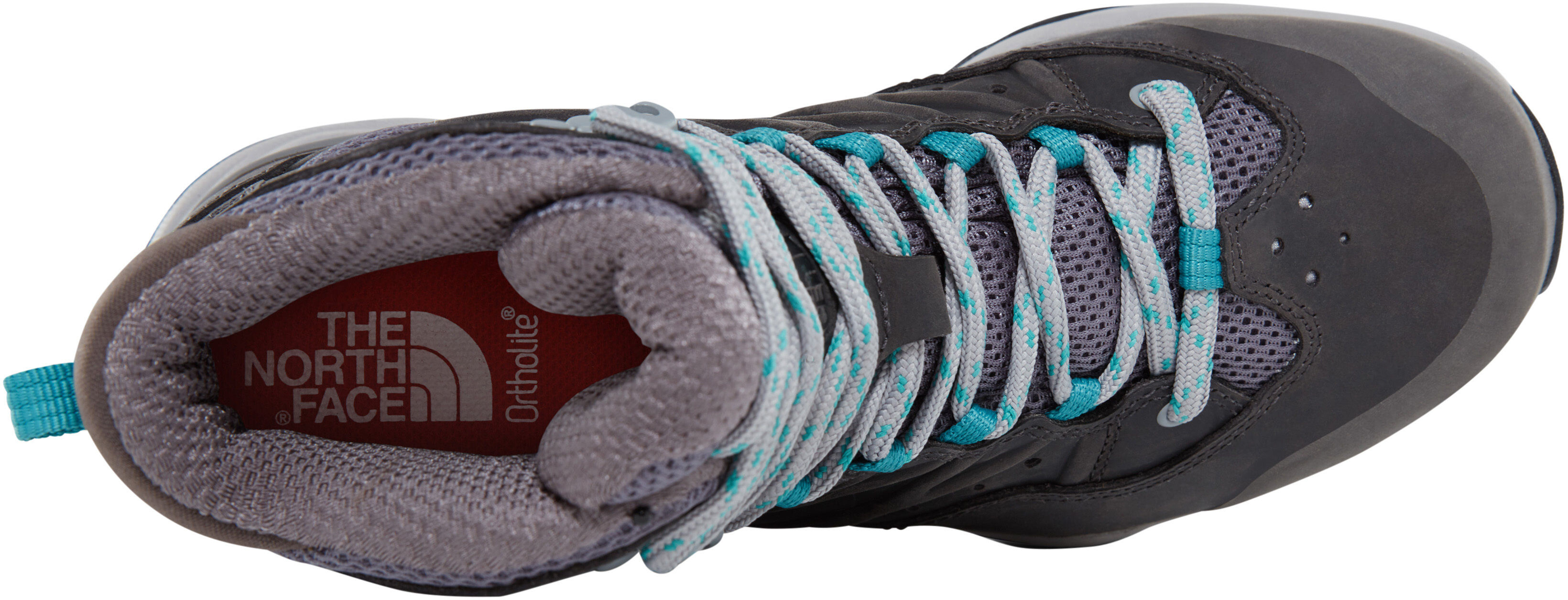 997eebc02 The North Face Hedgehog Hike II Mid GTX Shoes Women q-silver grey/porcelain  green